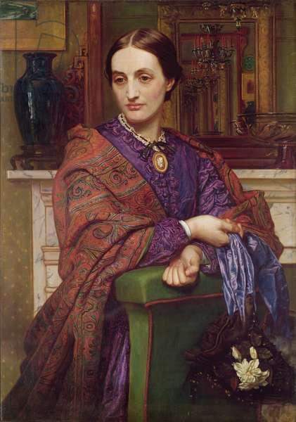 Portrait of Fanny Holman Hunt (1833-66) 1866-68 (oil on canvas)