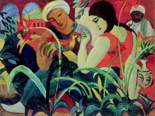 Oriental Women (Odalisques), 1912 (oil on board)