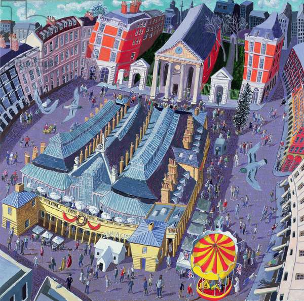 Covent Garden, 2008 (oil on canvas)