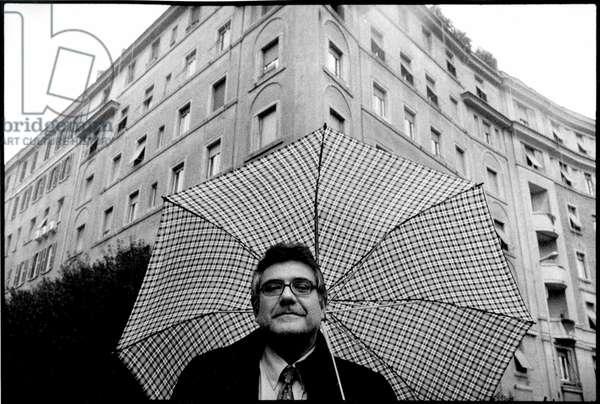 portrait of Giancarlo De Cataldo Italian writer in December 2005.