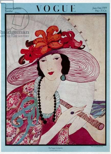 Vogue Cover, 1st June 1919