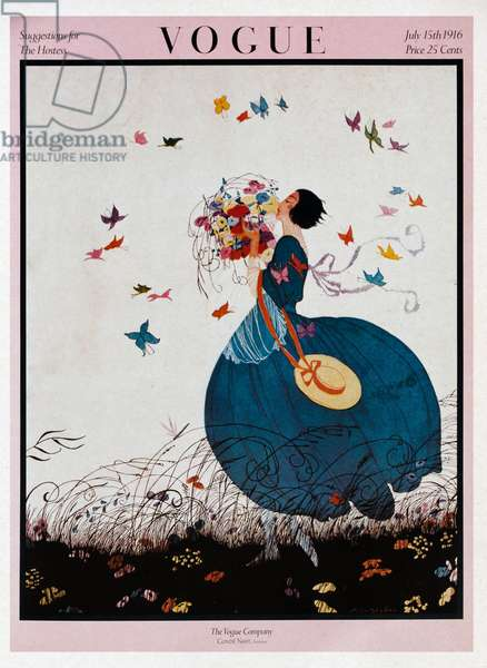 Front cover of the Magazine Vogue, American Edition, 1916