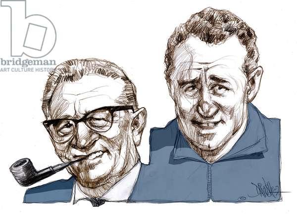DASSLER Adolf (1900-1978) et Rudolf (1896-1974)