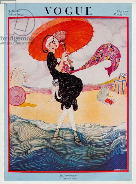 Vogue Magazine Cover, July 1919