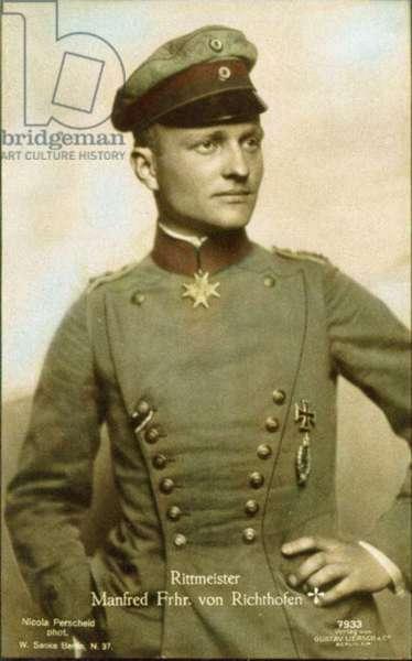 Manfred Albrecht Freiherr von Richthofen (photo)