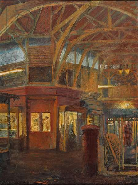 The Covered Market, 2003 (oil on panel)