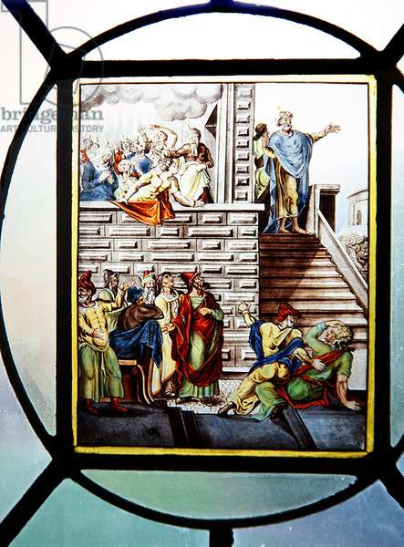 Pentecost, early 17th century (stained glass)