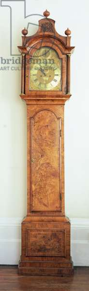 Eight day long-case clock, c.1752 (wood)