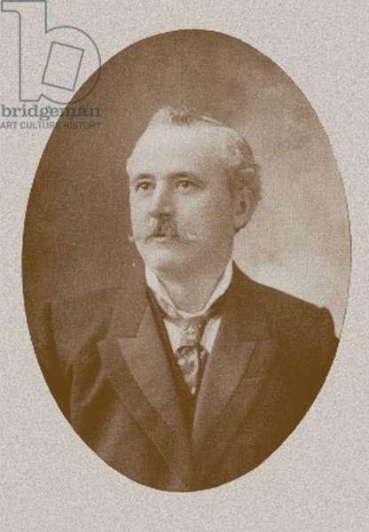 Alan Leo, c.1900-10 (b/w photo)