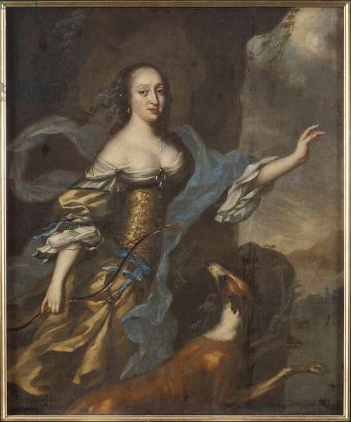 Princesse Anne Dorothee de Holstein Gottorp - Portrait of Princess Anna Dorothea of Holstein-Gottorp (1640-1713), by Ehrenstrahl, David Kloecker (1629-1698). Oil on canvas. Dimension : 146x122 cm. Nationalmuseum Stockholm