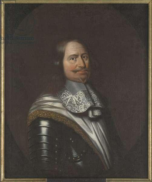 Jacob Kettler, duc de Courlande et Semigalie - Portrait of Jacob Kettler (1610-1682), Duke of Courland and Semigallia, Anonymous . Oil on canvas. Dimension : 90x74 cm. Nationalmuseum Stockholm