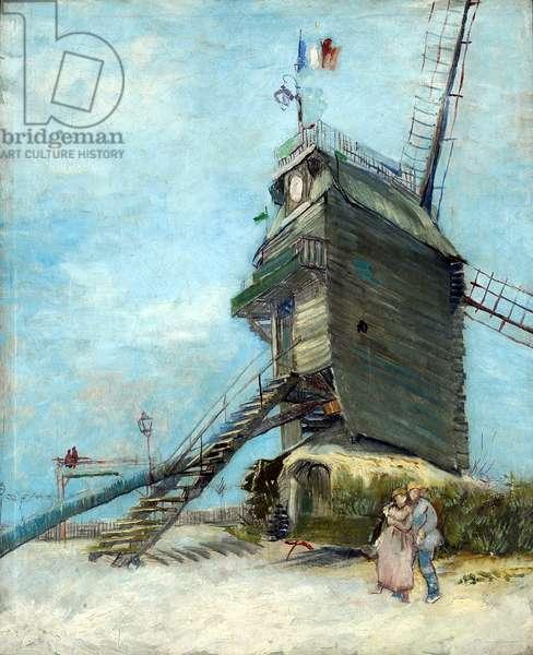 Le Moulin de la Galette, Montmartre, Paris, 1886 (oil on canvas)