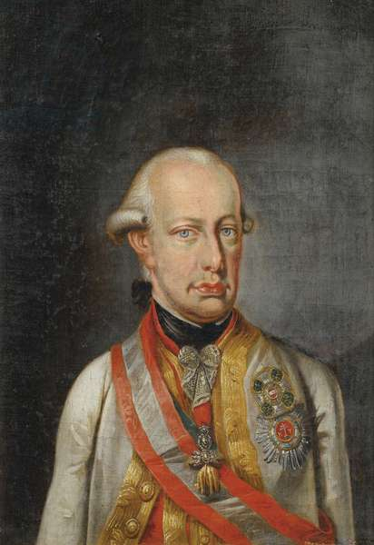 Leopold II Empereur des Romains - Neoclassicism : Portrait of Leopold II, Holy Roman Emperor (1747-1792), Anonymous, c. 1780. Oil on canvas, 34x23,5. Private Collection
