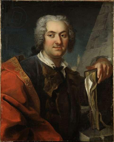 Baron Carl Harleman, architecte suedois - Portrait of Baron Carl Harleman (1700-1753), by Mijtens (Meytens), Martin van, the Younger (1695-1770). Oil on canvas. Dimension : 82x66 cm. Nationalmuseum Stockholm