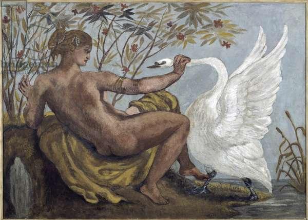 Leda and the Swan - 1834