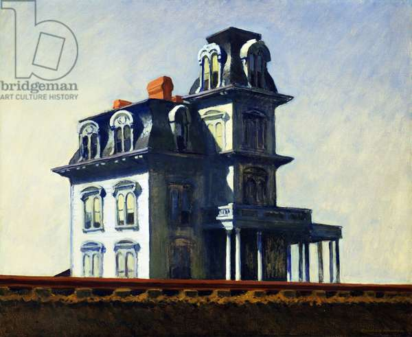 """""""House by the Railroad"""", 1925 (oil on canvas)"""