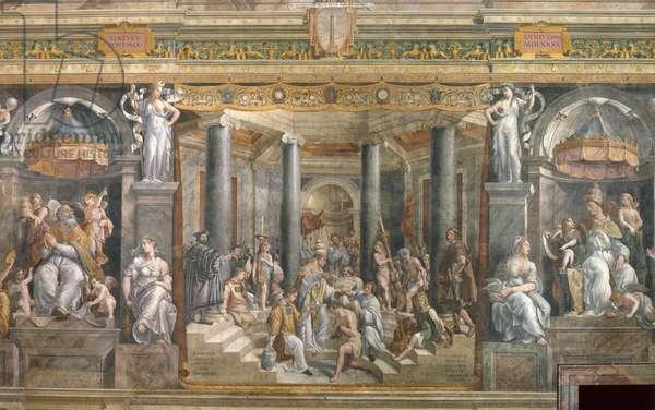 The Baptism of Constantine, 1517-1524 (fresco)