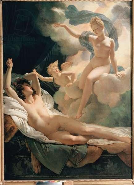 """""""""""Morphee et Iris"""""""" Peinture de Pierre Narcisse Guerin (1774-1833) 1811 Saint Petersbourg, musee de l'ermitage"""