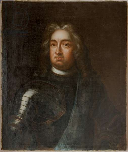 Charles I de Hesse Cassel - Portrait of Charles I (1654-1730), Landgrave of Hesse-Kassel, by Schroder, Georg Engelhard (1684-1750). Oil on canvas. Dimension : 83x69 cm. Nationalmuseum Stockholm
