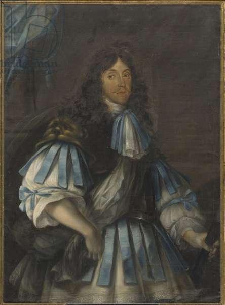 Prince Emmanuel d'Anhalt Kothen - Portrait of Prince Emmanuel of Anhalt-Koethen (1631-1670), Anonymous . Oil on canvas. Dimension : 130x95 cm. Nationalmuseum Stockholm
