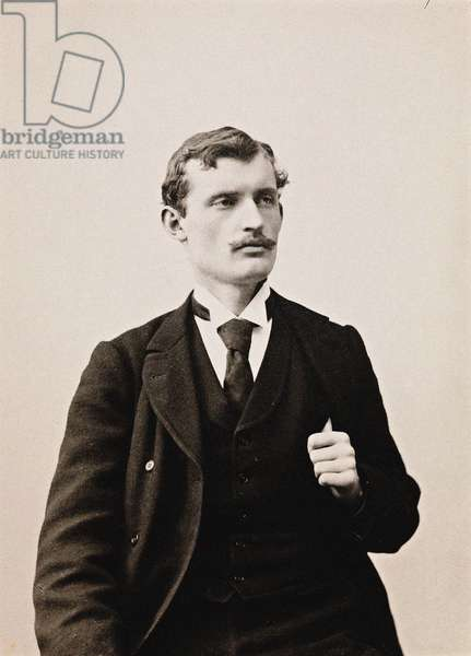 Edvard Munch par Anonymous, c. 1889 - Photograph - National Library of Norway, Oslo