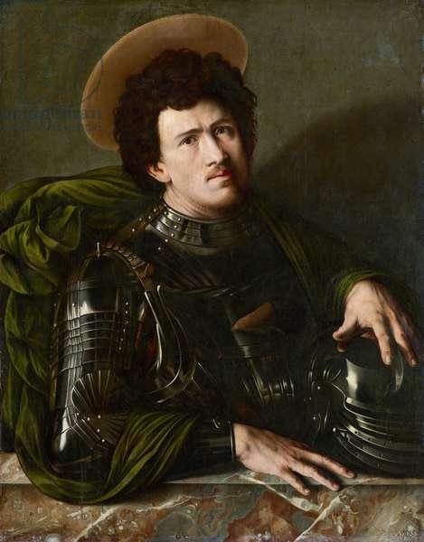 """""Saint George"""" Peinture anonyme vers 1540 - Oil on wood, Dim 93,5x73,5 cm Art History Museum, Vienne"