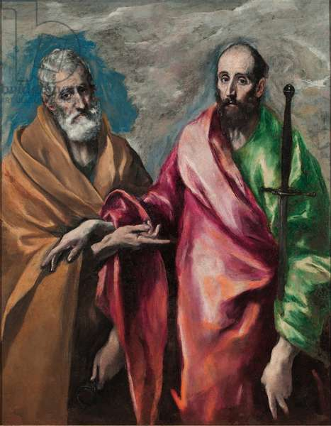 Saint Peter and Saint Paul, c.1590 (oil on canvas)