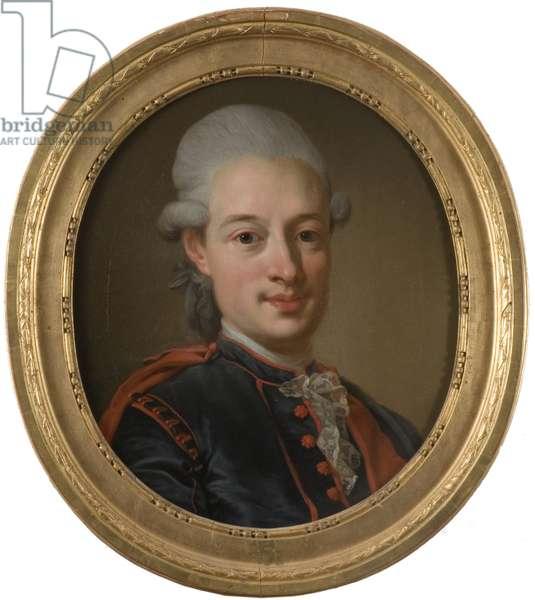 Gudmund Joran Adlerbeth, ecrivain et homme politique suedois - Portrait of Gudmund Joeran Adlerbeth (1751-1818), by Pasch, Lorenz, the Younger (1733-1805). Oil on canvas, 1780. Dimension : 51x44 cm. Nationalmuseum Stockholm