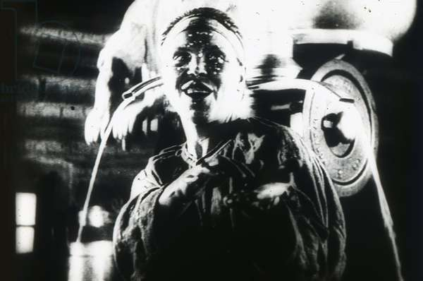Scene from the film The General Line (Old and New) by Sergei Eisenstein by Anonymous. Photograph, 1929. Private Collection