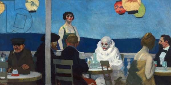 Blue Night, 1914 (oil on canvas)