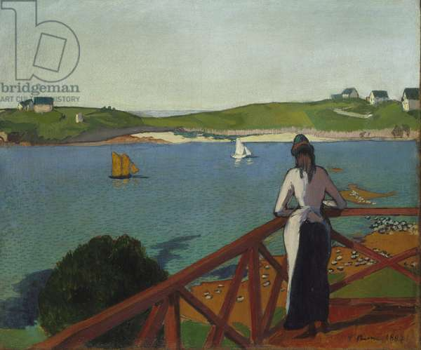 Afternoon at Saint-Briac, 1887 (oil on canvas)