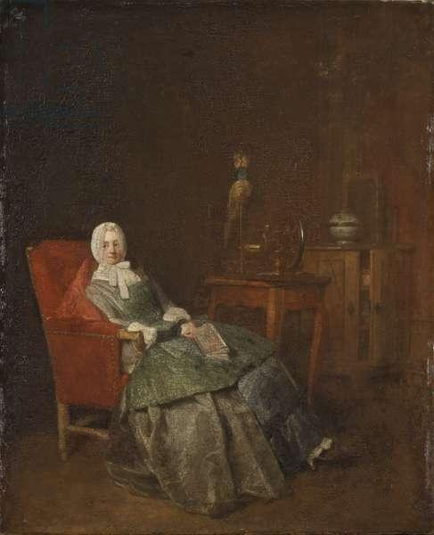 Plaisirs domestiques - Domestic Pleasures, by Chardin, Jean-Baptiste Simeon (1699-1779). Oil on canvas. Dimension : 42,5x35 cm. Nationalmuseum Stockholm