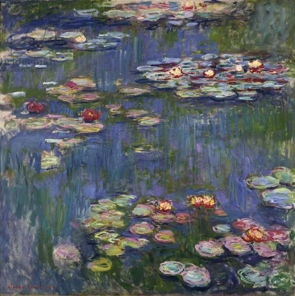 Waterlilies, 1916 (oil on canvas)