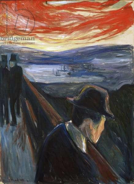 Despair (Sick Mood at Sunset), 1892 (oil on canvas)