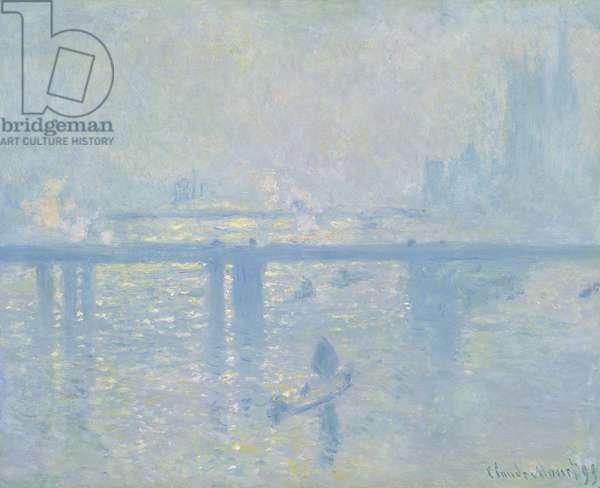 Charing Cross Bridge, 1899 (oil on canvas)