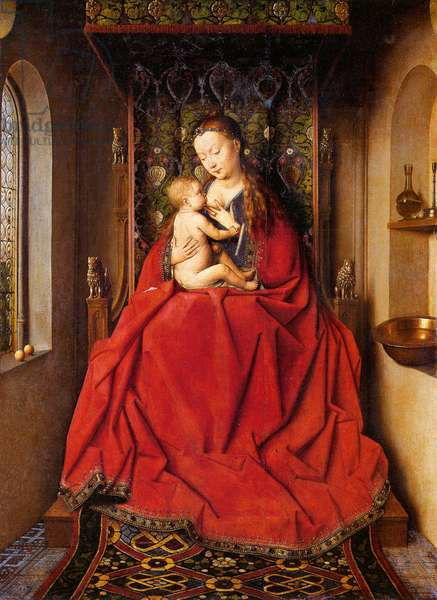 The Lucca Madonna, c.1437 (oil on panel)