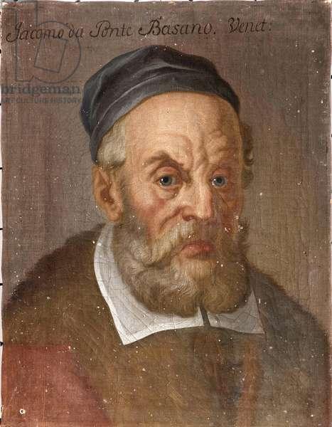 Portrait of Jacopo Bassano (Jacopo dal Ponte) (c. 1510-1592), Anonymous . Oil on canvas, ca 1590. Dimension : 39x31 cm. Nationalmuseum Stockholm