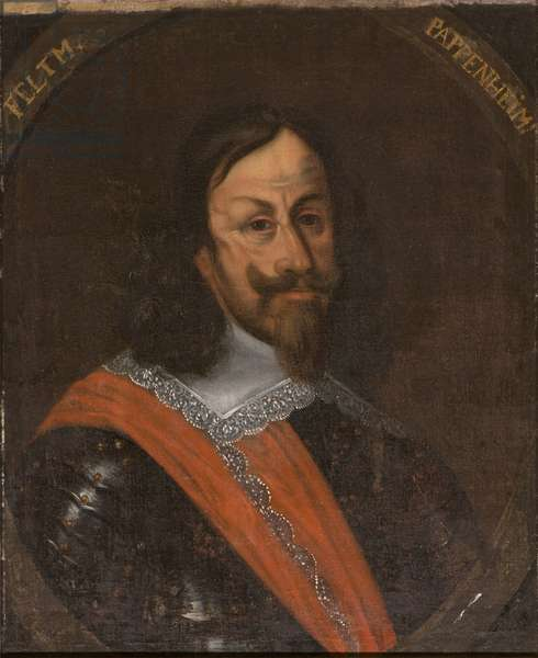 Gottfried Heinrich, comte souverain de Pappenheim, marechal du Saint Empire - Portrait of Count Gottfried Heinrich of Pappenheim (1594-1632), Anonymous . Oil on canvas. Dimension : 65x55 cm. Nationalmuseum Stockholm