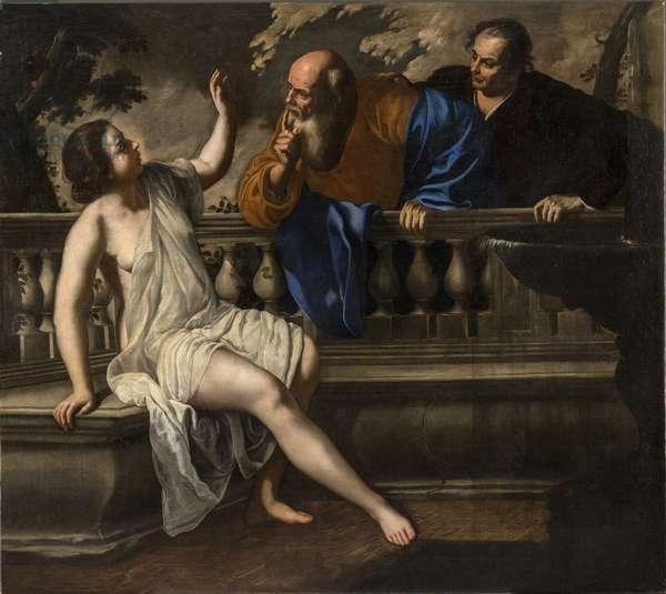 Susanna and the Elders, 1652 (oil on canvas)