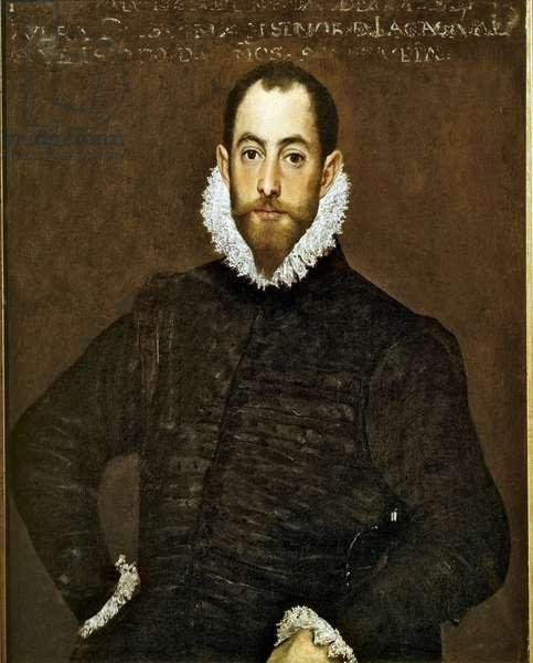 Don Alonso Martinez de Leyva, 1580 (oil on canvas)