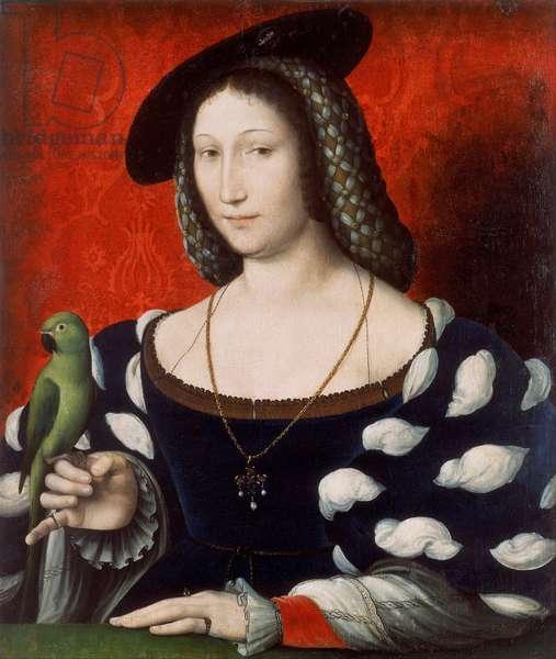 Portrait of Marguerite of Navarre