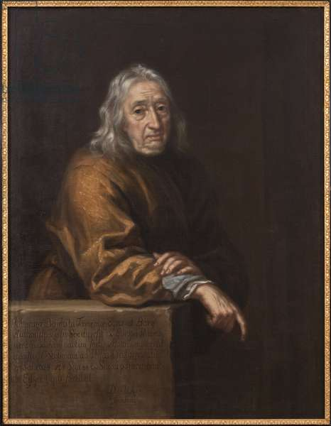 Portrait of Jean-Baptiste (Jean Baptiste) Tavernier (1605-1689), by Ehrenstrahl, David Klocker (1629-1698). Oil on canvas, 1688. Dimension : 110x86 cm. Nationalmuseum Stockholm