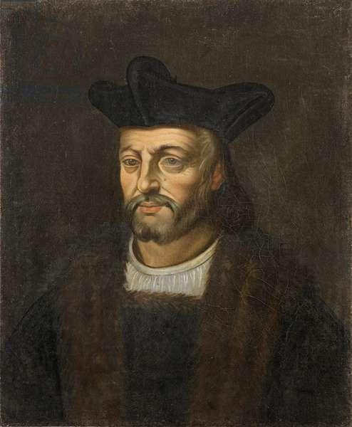 Portrait of Francois Rabelais (oil on canvas)