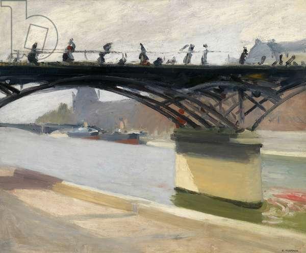 """""""Le pont des arts, Paris"""", 1907 (oil on canvas)"""