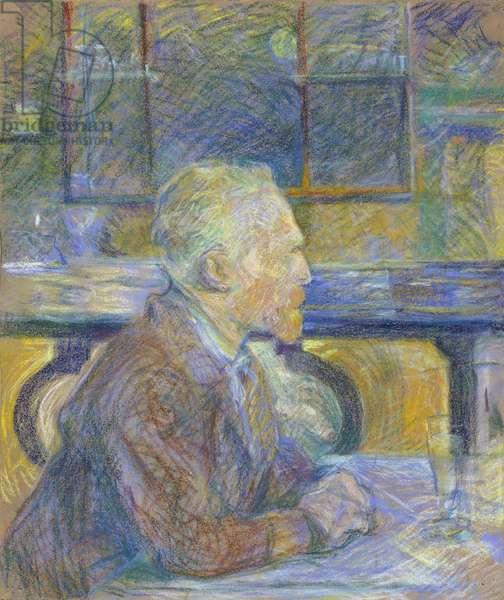 Portrait of Vincent van Gogh (1853-1890) par Toulouse-Lautrec, Henri, de (1864-1901), 1887 - Pastel on paper, 54x45 - Van Gogh Museum, Amsterdam