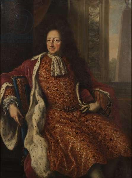 Comte Hans Wachtmeister, amiral de la marine royale suedoise - Portrait of Hans Wachtmeister (1641-1714), Count of Johannishus, by Ehrenstrahl, David Kloecker (1629-1698). Oil on canvas, 1690. Dimension : 142x112 cm. Nationalmuseum Stockholm