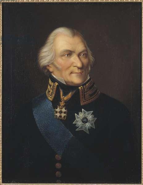Portrait of Count Johan Christopher (Kristoffer) von Toll (1743-1817), by Way, Johann Wilhelm Carl (1792-1873). Oil on canvas. Dimension : 75x62 cm. Nationalmuseum Stockholm