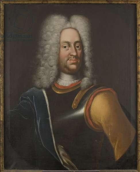 Charles I de Hesse Cassel - Portrait of Charles I (1654-1730), Landgrave of Hesse-Kassel, Anonymous . Oil on canvas, 1726. Dimension : 80x66 cm. Nationalmuseum Stockholm