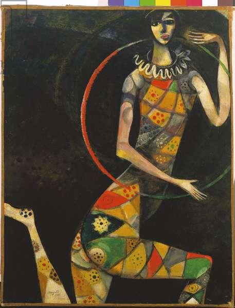 The Acrobat, 1914 (oil on canvas)
