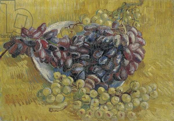 Grapes par Gogh, Vincent, van (1853-1890). Oil on canvas, size : 33x46,3, 1887, Van Gogh Museum, Amsterdam